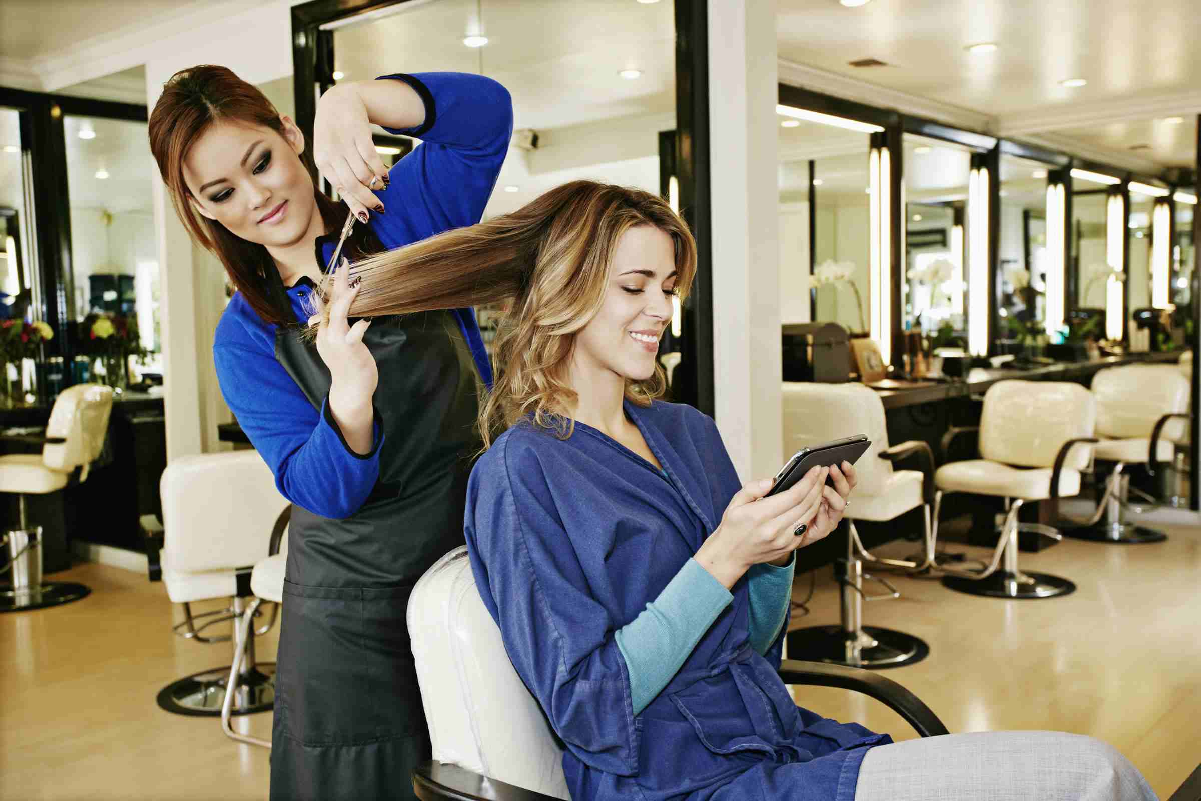 Hair stylist training certificate